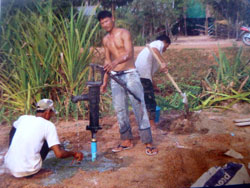 Digging a new well